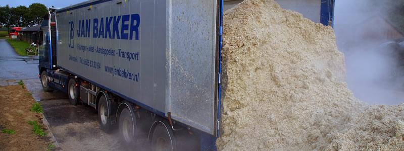 vrachtwagen perspulp